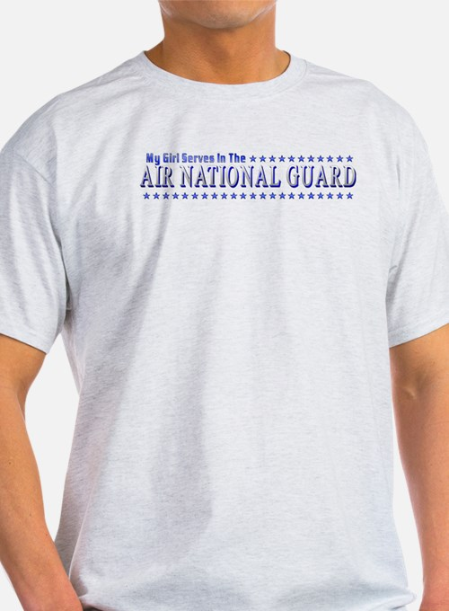 My Air Guard Girl Ash Grey T-Shirt