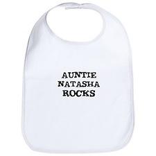 AUNTIE NATASHA ROCKS Bib