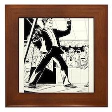 Unique Fame Framed Tile