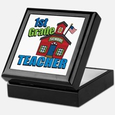1st Grade Teacher Keepsake Box