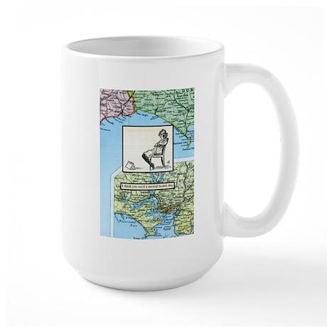 Mental health day Large Mug