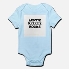 AUNTIE NATALIE ROCKS Infant Creeper