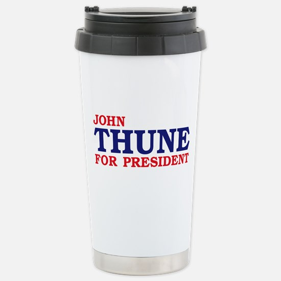 Thune for President Stainless Steel Travel Mug
