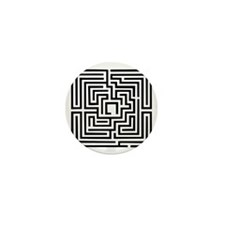 Labyrinth Mini Button (100 pack)