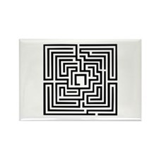 Labyrinth Rectangle Magnet (10 pack)