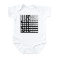 Sudoku - Brainteaser Infant Bodysuit