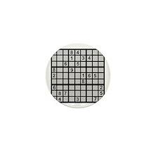 Sudoku - Brainteaser Mini Button