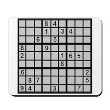 Sudoku - Brainteaser Mousepad