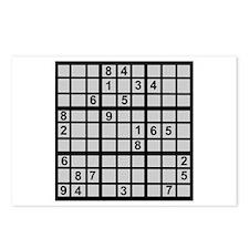 Sudoku - Brainteaser Postcards (Package of 8)
