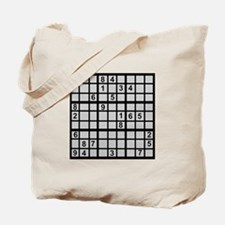 Sudoku - Brainteaser Tote Bag