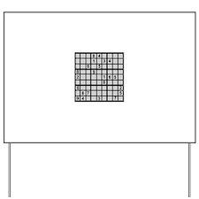 Sudoku - Brainteaser Yard Sign