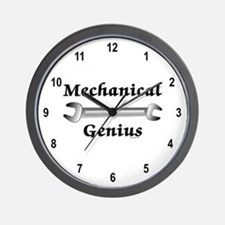 Mechanical Genius Wall Clock