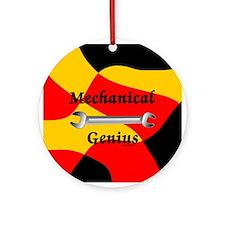 Mechanical Genius Ornament (Round)