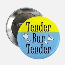 "Tender Bartender 2.25"" Button (10 pack)"