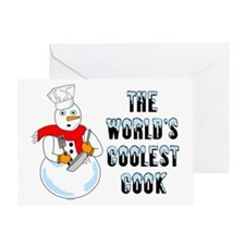 Coolest Cook Greeting Card