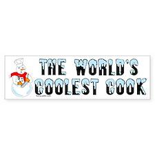 Coolest Cook Bumper Bumper Sticker