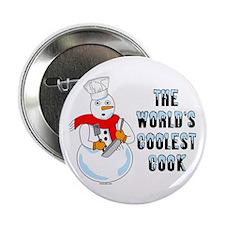 "Coolest Cook 2.25"" Button"
