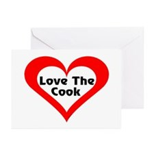 Love The Cook Greeting Cards (Pk of 10)