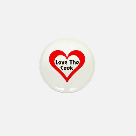 Love The Cook Mini Button