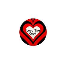 Love The Cook Block Mini Button (10 pack)