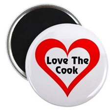 Love The Cook Magnet