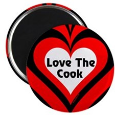 """Love The Cook Block 2.25"""" Magnet (100 pack)"""