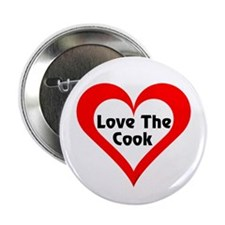 """Love The Cook 2.25"""" Button"""