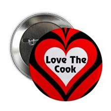 """Love The Cook Block 2.25"""" Button (100 pack)"""