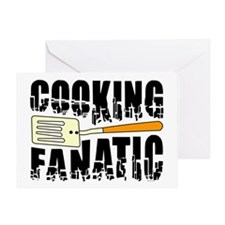 Cooking Fanatic Greeting Card