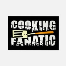 Cooking Fanatic Rectangle Magnet