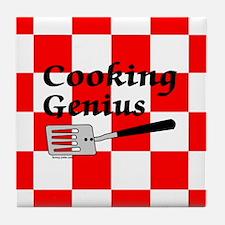 Cooking Genius Tile Coaster