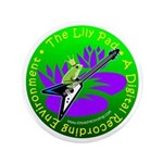 """The Lily Pad - 3.5"""" Button"""