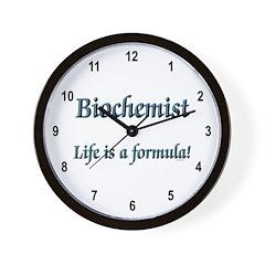Biochemist Wall Clock