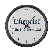Chemist Large Wall Clock