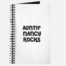AUNTIE NANCY ROCKS Journal