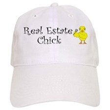 Real Estate Chick Baseball Cap