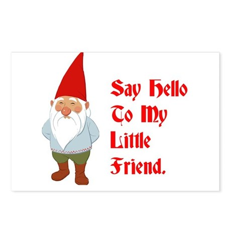 Say Hello To My Little Friend Postcards (Package o