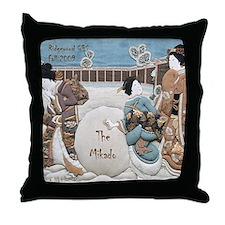 MIKADO Ridgewood G&S snow Throw Pillow