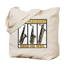 Sax machine Tote Bag