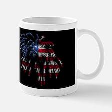 July 4th Flag Fireworks Mug