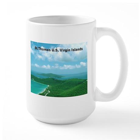 Home of Blackbeard Large Mug