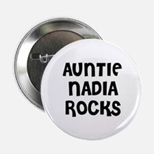 """AUNTIE NADIA ROCKS 2.25"""" Button (10 pack)"""