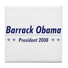 Obama 08 Tile Coaster