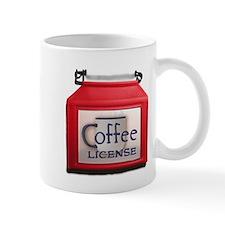 Coffee License Mug