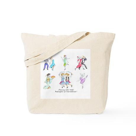 Dancing Bedlies Tote Bag
