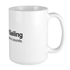Large Sunfish Sailing Mug