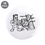 "Funny Monsters 3.5"" Button (10 pack)"