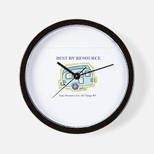 Unique Motorhome Wall Clock