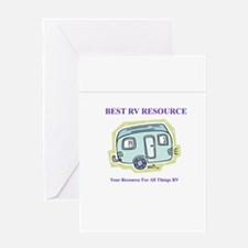 Funny Rv Greeting Card