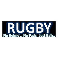 Rugby Bumper Bumper Sticker